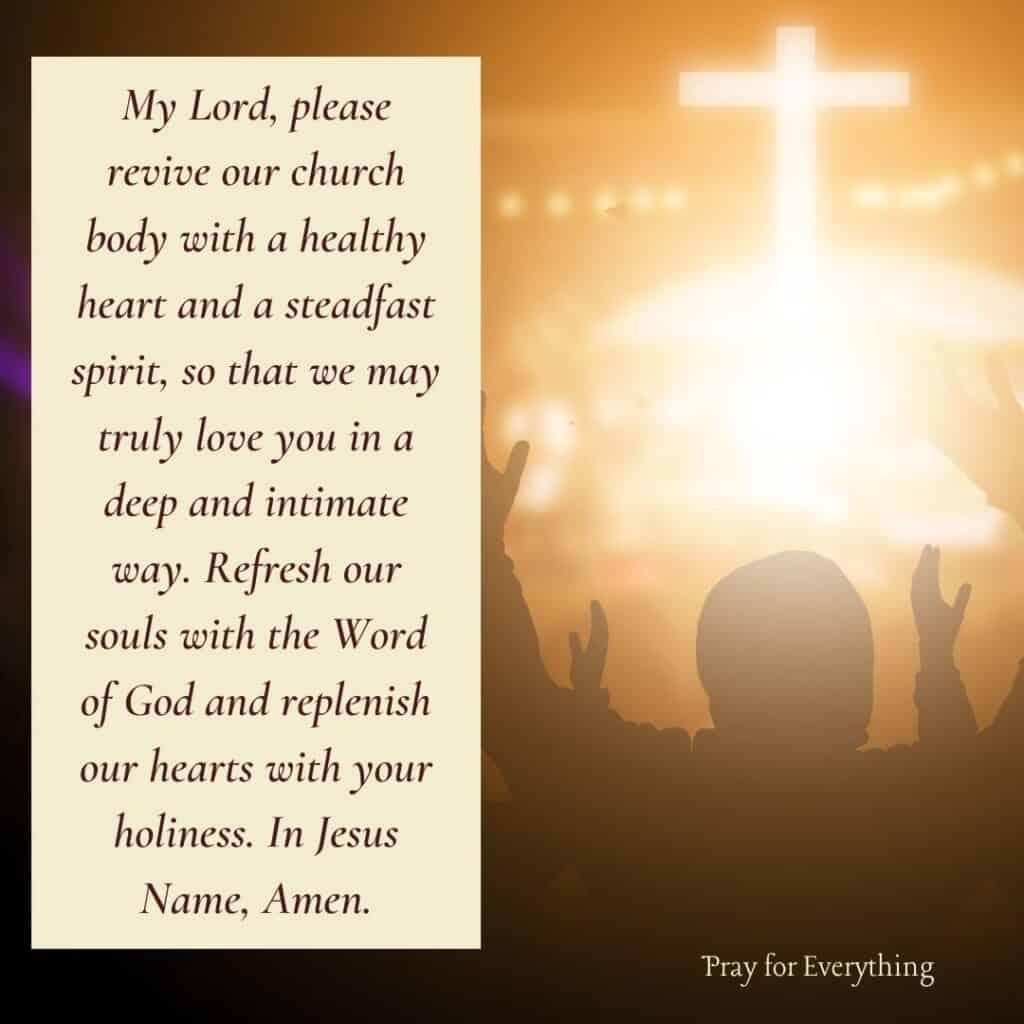 Prayer for Church Family
